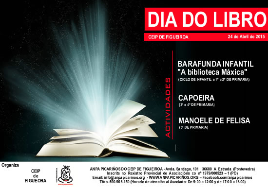cartel dia do libro 2015